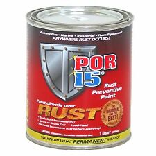 POR15 Car/Vehicle Rust Preventive/Prevention In Metal Paint Work - 475ml Tin