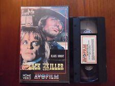 Black killer (Klaus Kinski, Antonio Cantafora) - VHS ed. Avofilm rara
