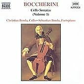 Boccherini:Cello Sonatas, Vol. 1, , Very Good CD