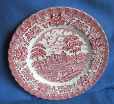 Hostess Tableware, Kuchenteller 20 cm, Teller Olde Country Castles rot