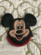 Vintage Disneyland Walt Disney World Mickey Mouse Zippered Coin Purse Hong Kong