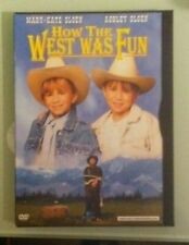 mary kate & ashley olsen  HOW THE WEST WAS FUN   DVD genuine region 1