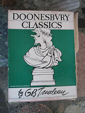 DOONESBURY by G. B. TRUDEAU BOX SET LOT OF 4 VINTAGE PAPERBACKS Comics Cartoons