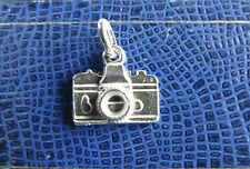 Fotocamera-Macchina Fotografica  Ciondolo in Argento 925 Sterling silver