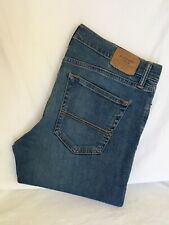 Abercrombie & Fitch Super Skinny Distressed Stretch Denim Jeans W34 L32 (AF1318)