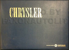1966 Chrysler Color and Upholstery Dealer Album LARGE 300 New Yorker Newport