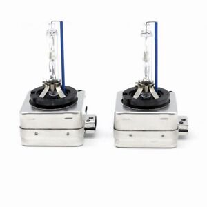 D1S 5000K HID XENON PAIR Two REPLACEMENT BULB Lamp White Light New DS1 5000K NEW
