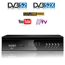 HD DVB-S2 FTA Decoder Satellite Receiver Digital TV Box usb capture Wifi Youtube
