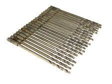 "20  Drill Bits - 3/16"" -  6"" HSS & Cobalt Piloted Step Drill Double Margin"