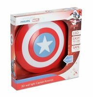 Philips Marvel Captain America Shield 3D LED Wall Light Including 3AA Batteries