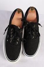 Vintage Vans Classical Trainer Sport Casual Shoes Unisex UK 6 Black S745