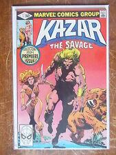 Ka-Zar the Savage 1 VF/NM to NM-