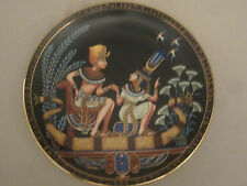 TUTANKHAMUN AND HIS PRINCESS Collector Plate EGYPT The Legend of Tut
