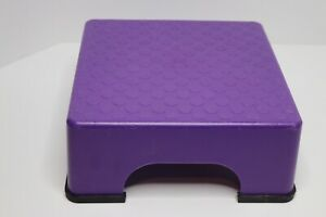 The FIRM Fanny Lifter TOP SMALL PURPLE Aerobic Step Stepper W 4 RUBBER FEET