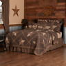 VHC Farmhouse Star Primitive Country Quilt (Your Choice Size & Accessories)