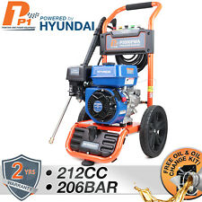More details for powerful petrol power pressure washer jet washer 3000 psi 207 bar 7 hp hyundai