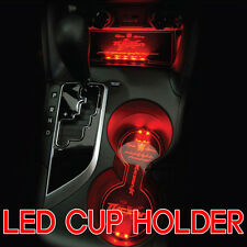 LED Cup Holder Console Plate RED For 10 11 12 Hyundai Tucson ix35