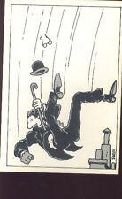TARDI Jacques Chapeau Melon carte postale cp 3/8 postcard postkaart cartolina