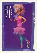 "Barbie Collectible Fashion Card "" Style Magic Barbie Fashions "" 1989"