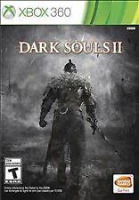 Dark Souls II (Microsoft Xbox 360, 2014)Video Game 2 In Case Best Deal Low Price