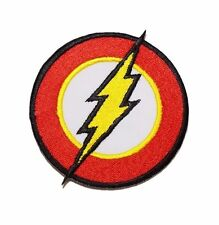 The Flash Logo Sew On / Iron On Superhero Patch Costume / Cosplay Justice League