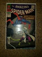 The Amazing Spider-Man #44  2nd appearanceof the lizard 4.5-5.5Jun 1968, Marvel)