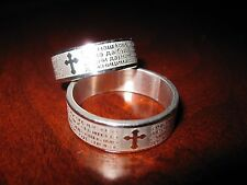 Serbian Serbia Serb Orthodox Prayer Ring Cyrillic BONUS!! Free cross bracelet!!