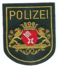 German Police/Bremen City Patch old green Uniform, RARE, I/II