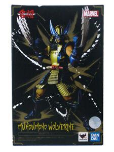 Bandai Marvel Mei Sho Manga Realization Muhoumono Wolverine Figure New In Box
