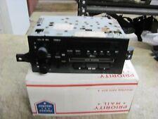 1984 - 88 Chevy Delco AM/FM radio cassette, fits Blazer S10 Camaro # 16131345