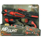 6+ Kids Airblast Spin Target, Gun and Box of 48 Soft Bullets Toy Game 3in1 Set