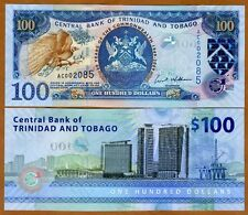Trinidad and Tobago, 100 dollars, 2009 P-52, UNC   Commemorative