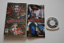 CASTELVANIA THE DRACULA X CHRONICLES pour PSP