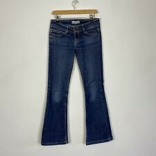 Moto Topshop Blue Bootcut Womens Low Rise 90s Y2K Jeans Size 10 W28 L 32