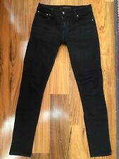 Nudie Jeans Skinny Lin 28W X 34L Black pre-owned, worn once condition