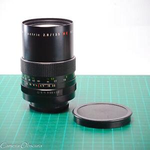 Pentacon 135mm f/2.8 Electric MC Lens with M42 Pentax Mount