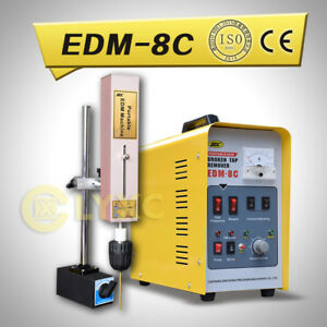CE Certificated Broken Tap Remover/Tap Buster/Spark Erosion Machine EDM-8C 220V