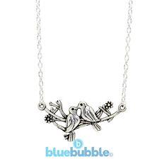 Bluebubble VINTAGE LOVE Necklace Cute Chic Animal Peace Dove Kitsch Retro Boho