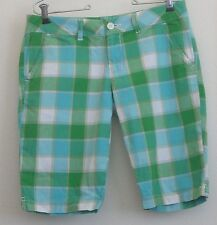 LiLu Shorts Plaid Size 5 W32
