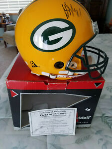 signed football helmet full size