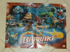 LEGO® Bionicle Poster Bionicle Poster Barraki Front, Mahri Back ungelocht B607