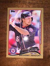 2014 Topps Future Stars Gold /2014 Anthony Rendon Washington Nationals