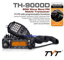 TYT TH-9000D UHF 200 Channel DTMF 2tone 5 tone Mobile Car Radio ( Scrambler )