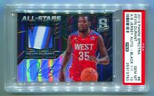 2013-14 PANINI SPECTRA ALL-STAR PATCH AUTO PRIZM BLACK KEVIN DURANT #1/1 PSA 10