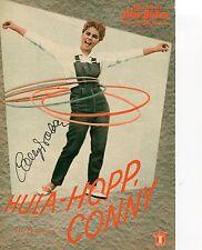 Cornelia Froboess - original Autogramm auf Filmprogramm HULA HOPP CONNY