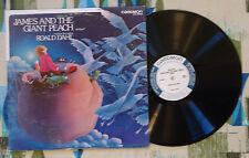 Roald Dahl LP James And The Giant Peach 1977 Caedmon Spoken Word VG+/VG++