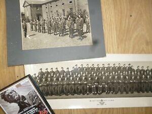 war film memorabilia - photos signatures and film - raf 1951