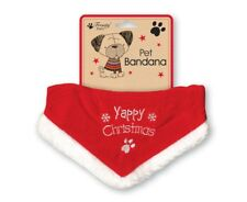 Yappy Christmas Dog Bandana Deluxe Puppy Pet Festive Collar Adjustable XSPDBA