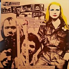 IT'S NOT THE NINE O'CLOCK NEWS 45RPM PICTURE SLEEVE THE AYATOLLAH SONG UK ISSUE