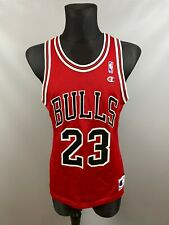 CHICAGO BULLS MICHAEL JORDAN NBA BASKETBALL SHIRT SWINGMAN CHAMPION SIZE 40